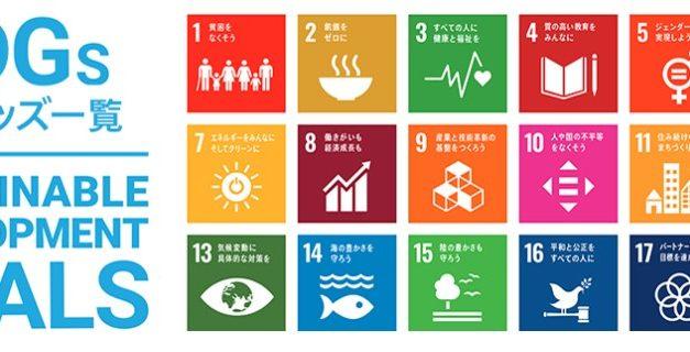 SDGsカテゴリー出来ました!